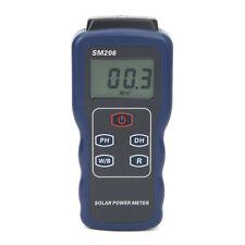 Precision Solar Power Meter Light Intensity Measurement Radiation Tester SM206