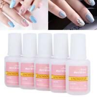 10g Nail Art Strong Glue With Brush for Nail Art Fake Acrylic False Tips New
