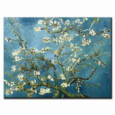 Van Gogh Floral Wall Art Large Apricot Flower Canvas Print Art Home Decor 1 Pcs