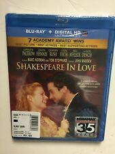 Shakespeare in Love (Blu-ray Disc, 2014) New Out of Print