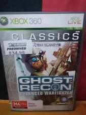 Ghost Recon: Advanced Warfighter (Classics) - Microsoft Xbox 360 - With Manual