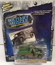 Johnny Lightning Military Muscle Ground Assault Humvee Cargo/Troop Carrier