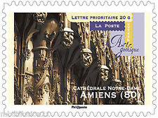2011-ADHESIF TIMBRE NEUF**/CATHEDRALE D'AMIENS-ART//AUTOCOLLANT....N° 559a
