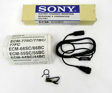 Sony ECM-66BC Condenser Microphone - New Old Stock, Free Shipping