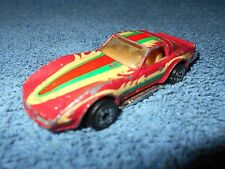 1980 CPG KENNER PRODUCTS NO.1027 RED CORVETTE MINNESOTA PLATES 1:64 DIECAST CAR