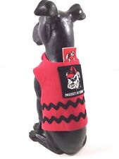 Dog Pet Clothes Harness SZ XS 3 to 5 LBS  NEW  Handmade College Georgia Bulldogs