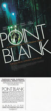 POINT BLANK THE MOVIE UNUSED ADVERTISING COLOUR POSTCARD