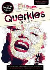 Querkles Icons : A Puzzling Color-By-Number Book, Paperback by Pavitte, Thomas