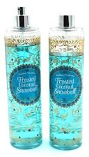 Bath&Body Works Fine Fragrance Mist Frosted Coconut Snowball set of 2 Read Info