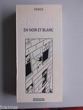 Tintin -Tintin en noir et blanc Casterman 1987 9 mini-albums toilés dont soviets