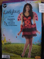 Lady Bug women's costume size S(4-6)