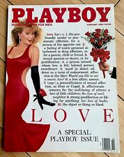 PLAYBOY Magazine February 1989 / Simone Eden LOVE-A Special Playboy Issue