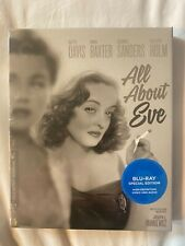 Criterion Collection - All About Eve - Blu Ray New Sealed - Academy Awards - Afi