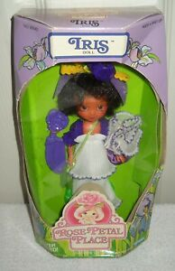 #10153 NRFB Vintage Kenner Rose Petal Place Iris African American Doll