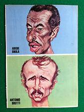 PX56 Pubblicità Ritaglio Clipping 23x16 ABELE BIKILA ANTONIO BRUTTI caricatura