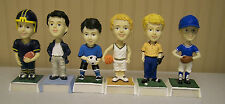 BOYS FOOTBALL or SOCCER NAMESAKE BOBBLE HEAD - PERSONALIZED  -   SEE NAME LIST