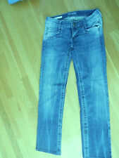 Decree Jeans Straight Leg Dark Wash Size 5 Stretch