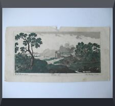 GRAVURE Eau Forte signée PERELLE ca 1690 par DREVET