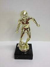 New Marble Based Female Football Trophy FREE ENGRAVING