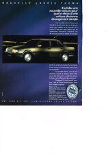 PUBLICITE ADVERTISING   1989   LANCIA  THEMA
