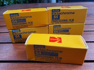 Kodak Ektachrome 64 Professional 120 Film Slide Expired 1978/80