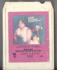 JOHN COUGAR MELLENCAMP Nothin Matters 8 track tape RARE RECORD CLUB 1980