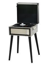 Denver VPL-150BT freistehender Retro Schallplattenspieler Bluetooth MP3 USB RCA