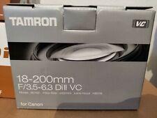 Tamron 18-200 F3.5 - 6.3 Di II VC For Reflex Canon NEUF