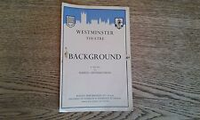 Westminster Theatre 1950 Background by Warren Chetham Strode Andre Morell
