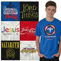 Christian Tee Shirt Religious T Shirts For Mens Pop Culture Novelty Gift Tshirts