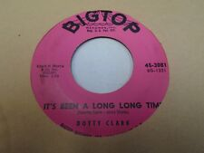 """Dotty Clark That's a Step In the Right Direction It's Been Long Time 7"""" 45 VG+"""