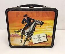 Vintage 1960 Have Gun Will Travel Paladin Metal Lunchbox Aladdin NO Thermos