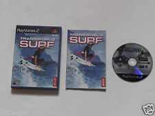 TRANSWORLD SURF for PLAYSTATION 2 'VERY RARE & HARD TO FIND'