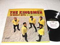 "The Kingsmen ""15 Great Hits"" 1966 Rock LP, Nice VG++!, Original Wand Pressing"