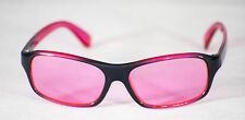 Happyeye dyslexia glasses visual stress overlays therapy red/pink childs