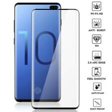 6D 9H Full Tempered Glass Film Protector for Samsung Galaxy S10 Plus/S10e Screen