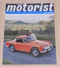 SPORTING MOTORIST Magazine March 1964 - Fiat 600D, Austin Mini, Renault R4L ++