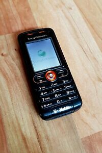 Sony Ericsson W200i Walkman Mobile Phone IN Black