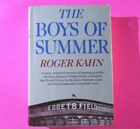 The Boys Of Summer by Roger Kahn 1972 First Edition 1st Printing, Baseball, HC