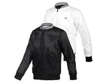 Adidas Neo Rev Bmb Jacket Herren Jackett bilateral Weiß und Schwarz Windjacke S