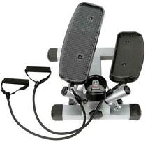 Sunny Health and Fitness Twist Stepper with Resistance Adjustable Bands and Digi