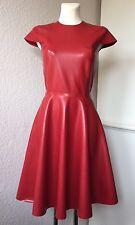 Latex Dress Latexkleid Vintagestyle Rot