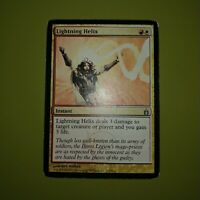 City of Guilds HEAVILY PLD Uncommon CARD ABUGames Lightning Helix Ravnica