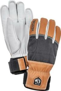 NEW HESTRA ARMY LEATHER ABISKO GLOVES Size 8-9-10-11 Alpine Pro Series