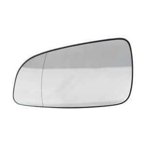 Left Outside Mirror Glass Rearview Mirror Glass Replacement for OPEL ASTRA D6H9