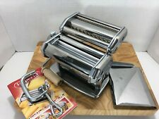 Imperia Manual PASTA MACHINE MAKER Great Condition Made in Torino Italy