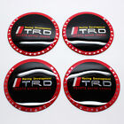4×65mm TRD Racing Wheel Center Caps Hub Cap Hub Cover Emblem Sticker Badge Decal