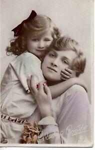 70678. Orig circa 1915 Photo Postcard British Actress Gladys Cooper handcolored