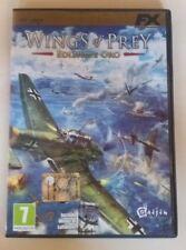 """GIOCO PC DVD - WINGS OF PREY """"EDIZIONE ORO"""", PERFETTO PARI AL NUOVO, MANUALE ITA"""