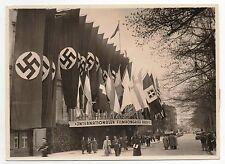 Photo originale. Entrée du Congrès International du Film BERLIN 1935.